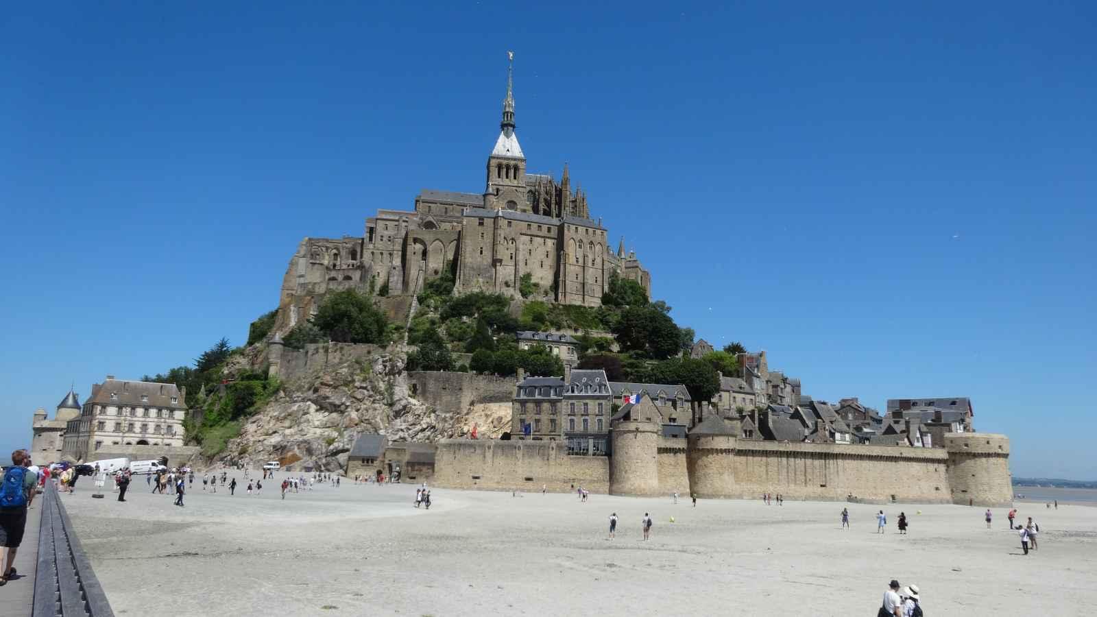Mont St Michel, inspiring